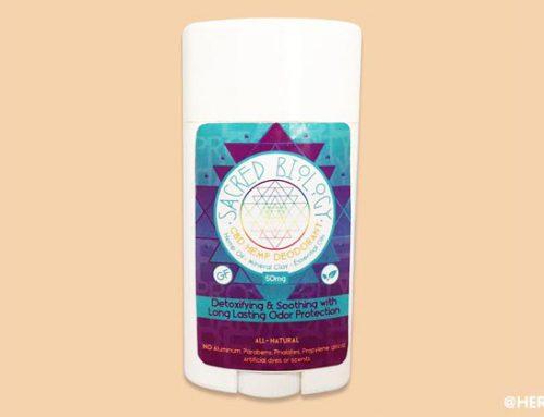 Sacred Biology CBD Deodorant