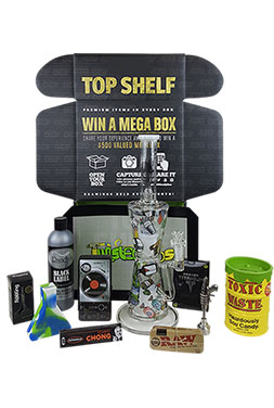 goody box the top shelf smoking subscription