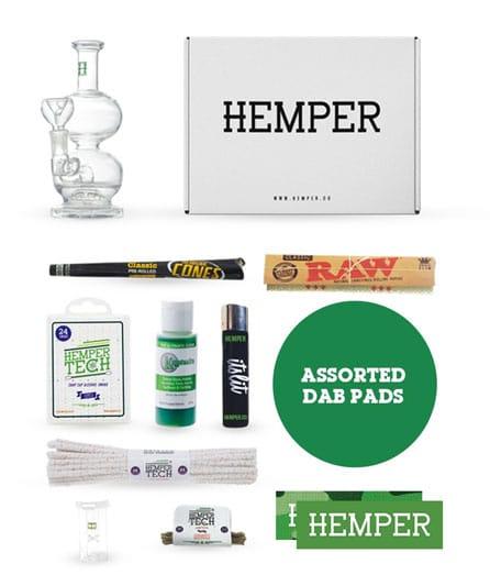 hemper glassentials box smoking subscription