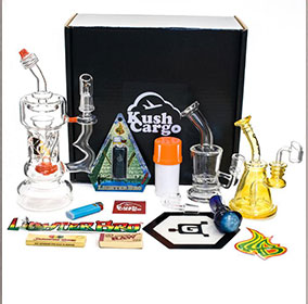 kush cargo first class cargo smoking subscription