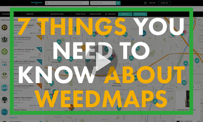 weedmap tutorial to find dispensaries and deals