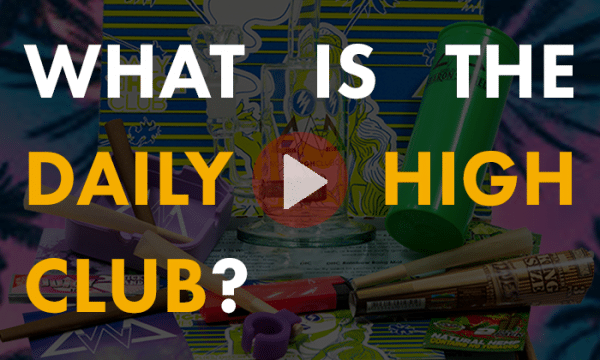 What is the Daily High Club Monthly Smoking Subscription